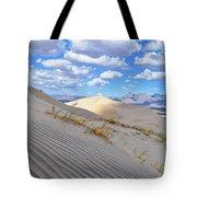 Kelso Dunes Desert Landscape Tote Bag