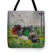 Kettle Moraine Train Tote Bag