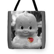 Rosie O'neil's Kewpie Of Love Tote Bag
