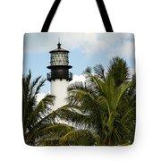 Key Biscayne Lighthouse, Florida Tote Bag