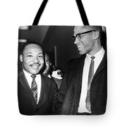King And Malcolm X, 1964 Tote Bag