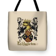 King Of England Coat Of Arms - Livro Do Armeiro-mor Tote Bag