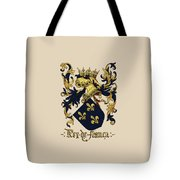 King Of France Coat Of Arms - Livro Do Armeiro-mor  Tote Bag