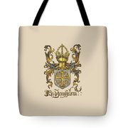 Kingdom Of Jerusalem Coat Of Arms - Livro Do Armeiro-mor Tote Bag