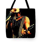 Kiss In Concert Tote Bag