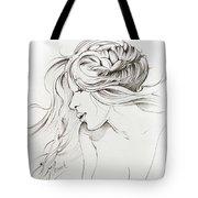 Kiss Of Wind Tote Bag