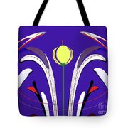 Kiss The Flower Tote Bag