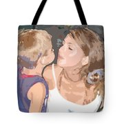 Kissing Mommy2 Tote Bag