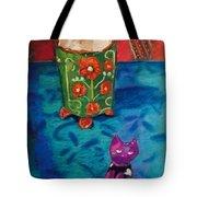 Kitty Still Tote Bag