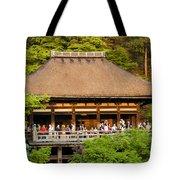 Kiyomizudera Temple Tote Bag