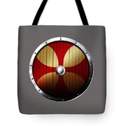 Knights Templar Shield Tote Bag