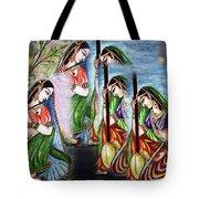 Krishna Prayer  Tote Bag