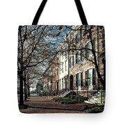 La Fayette Park In Autumn Tote Bag