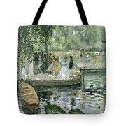 La Grenouillere Tote Bag by Pierre Auguste Renoir