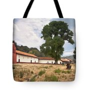 La Purisima Mission II Tote Bag