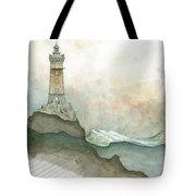 La Vieille Lighthouse Tote Bag
