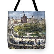 Labor Day Parade, 1882 Tote Bag