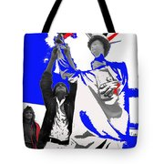 Lady Liberty's Torch Adjusted Parade Tucson Arizona Color Added Tote Bag