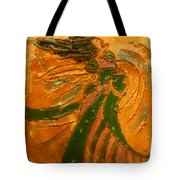 Lady Sings - Tile Tote Bag