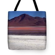 Laguna Colorada And Mountains Tote Bag