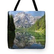Lake Braies Tote Bag