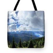 Lake Mcdonald From Mt Brown Trail - Glacier National Park Tote Bag