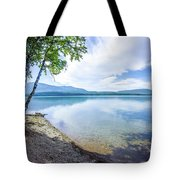 Lake Mcdonald In Glacier National Park Montanaa Tote Bag