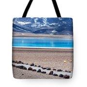 Lake Miscanti In Chile Tote Bag