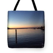 Lake Zurich At Sunset Tote Bag