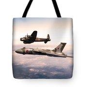 Lancaster And Vulcan Tote Bag