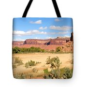 Land Of Canyons Tote Bag