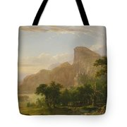 Landscape Scene From Thanatopsis Tote Bag