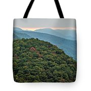Landscape View At Cedar Mountain Overlook Tote Bag