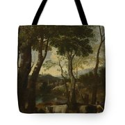 Landscape With A Cowherd Tote Bag