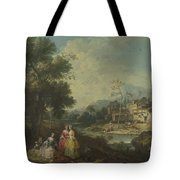 Landscape With A Group Of Figures Tote Bag