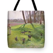Landscape With Goatherd Tote Bag