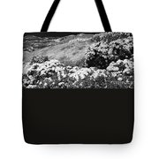 Landscape With Hydrangeas Tote Bag