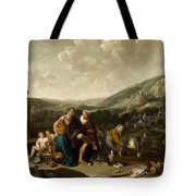 Landscape With Jacob And Rachel Tote Bag