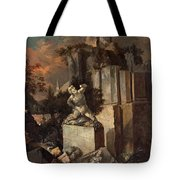 Landscape With Ruins Tote Bag