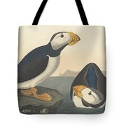 Large-billed Puffin Tote Bag