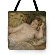 Large Nude Tote Bag