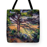 Large Pine And Red Earth Tote Bag