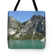 Largo Di Braies, Dolomites, Italy Tote Bag