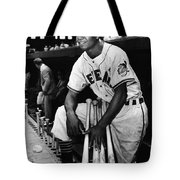 Larry Doby (1923-2003) Tote Bag