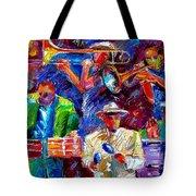 Latin Jazz Tote Bag