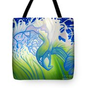 Launch With Abandon Tote Bag