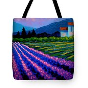 Lavender Field France Tote Bag