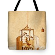 Lavoisiers Respiration Experiments Tote Bag