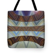 Layers Of Earth And Sky Tote Bag