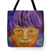Le Manga Boy Tote Bag